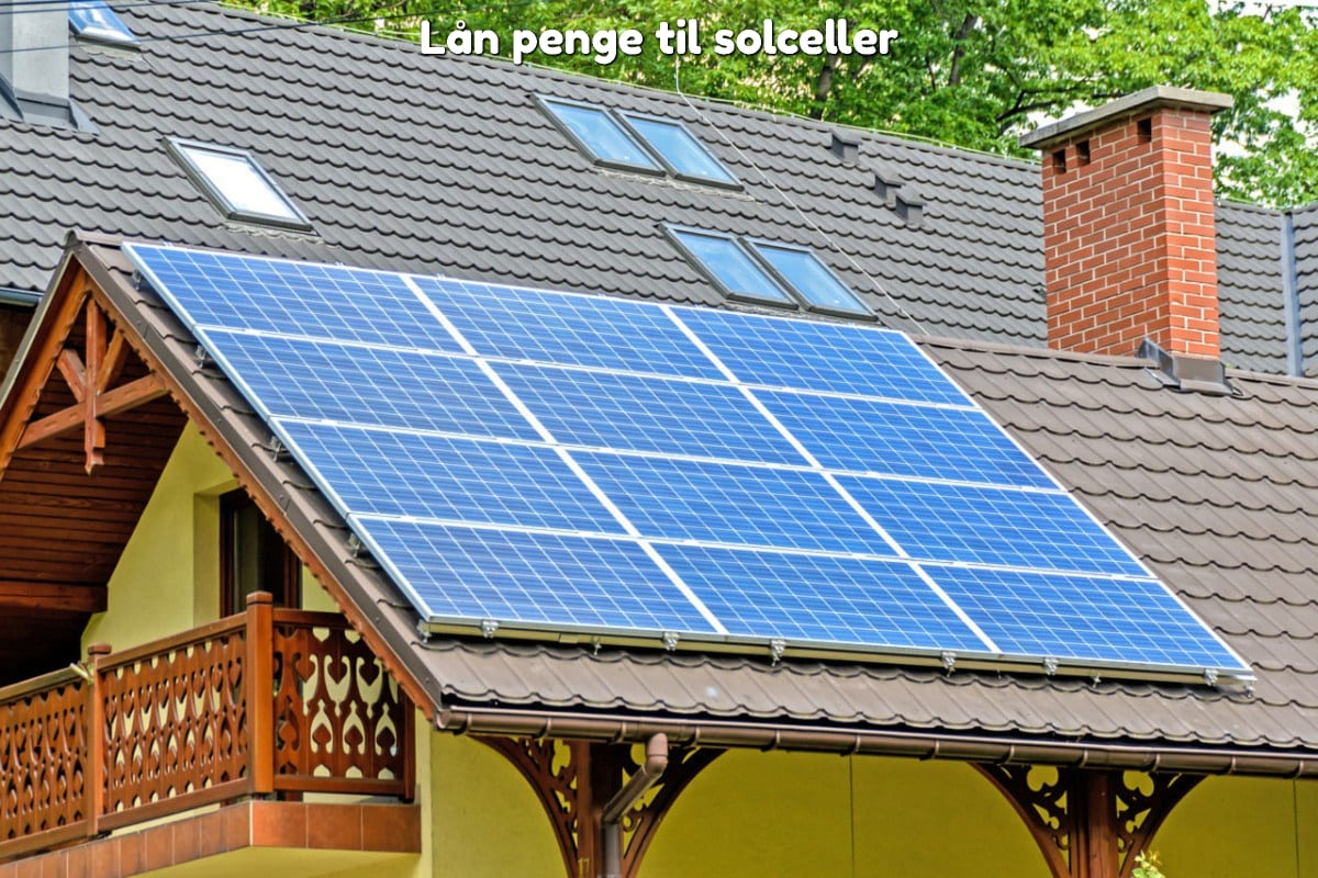 Lån penge til solceller